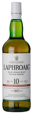 Laphroaig Scotch Single Malt 10 Year Cask Strength
